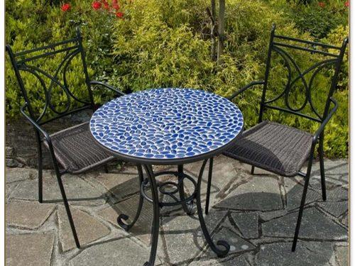 Mosaic Bistro Table Set