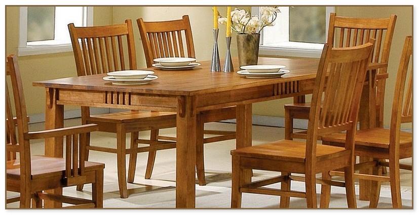 Oak Dining Room Tables