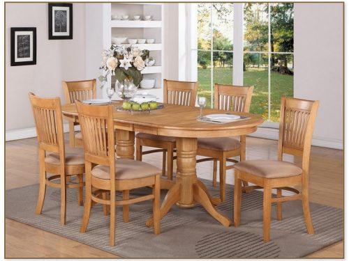Oak Kitchen Table Sets