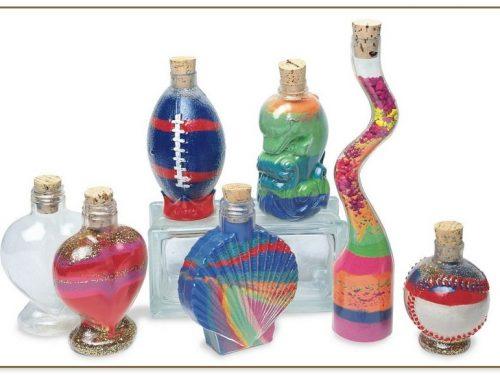 Sand Art Bottles Bulk