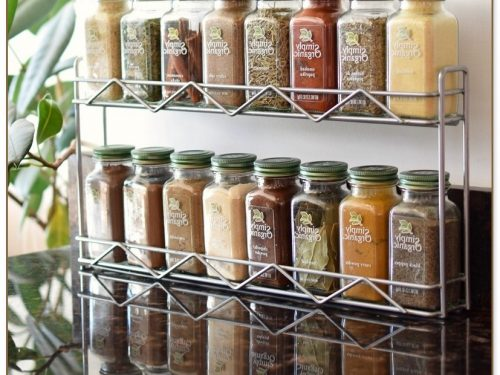 Simply Organic Spice Rack