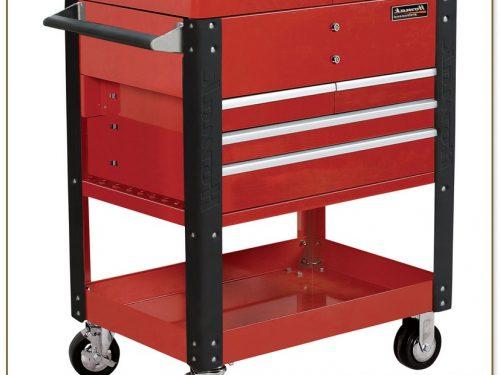 Sliding Top Tool Cart