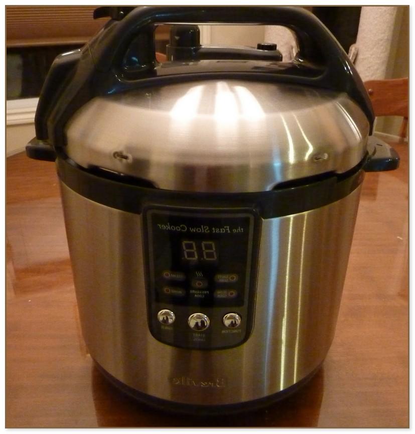 Slow Cooker Pressure Cooker Combo
