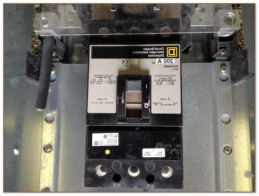 Square D 200 Amp Panel