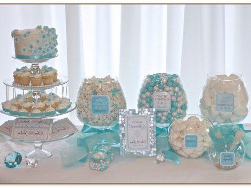Tiffany Blue Candy Buffet