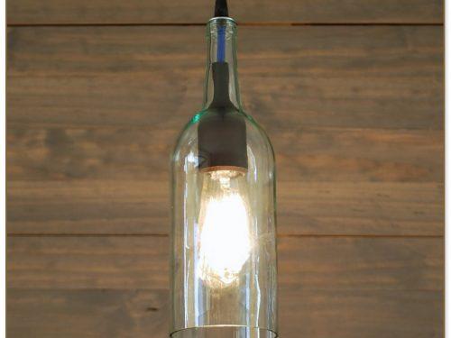Wine Bottle Pendant Light Kit