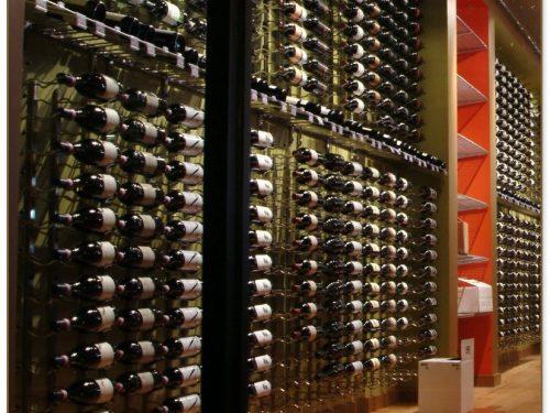 Wine Rack On Wall
