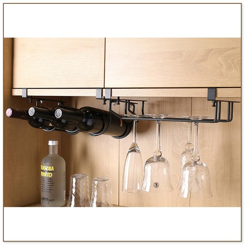 Wine Rack Under Cabinet