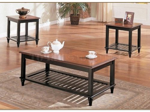 Wood Coffee Table Sets