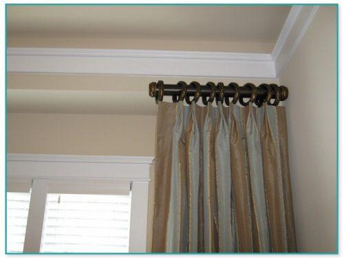 12 Inch Decorative Curtain Rod