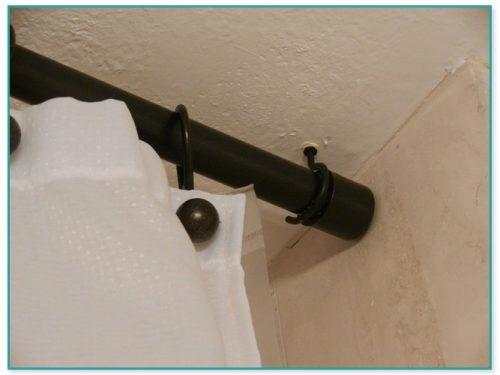 Adjustable Ceiling Mount Curtain Rod Brackets
