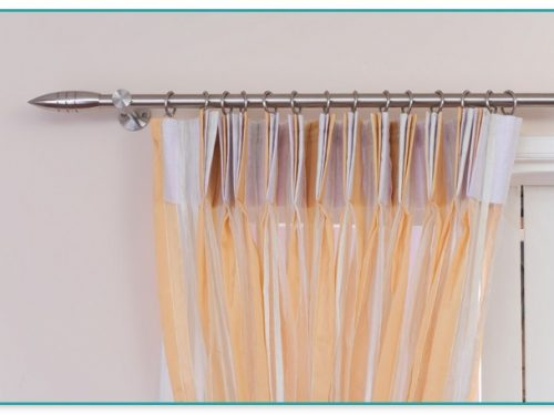 Adjustable Tension Rod For Curtains