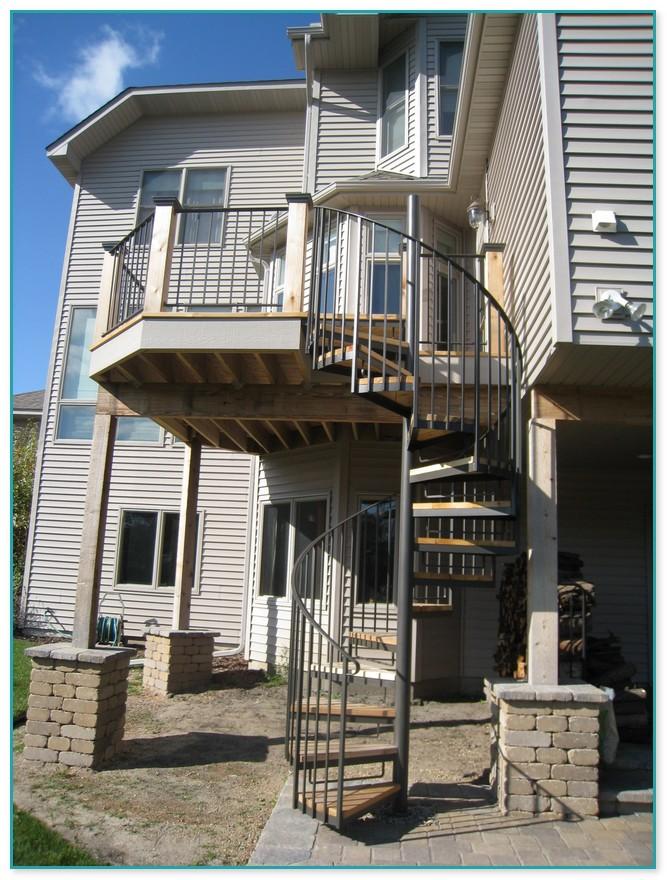 Alternative To Spiral Staircase