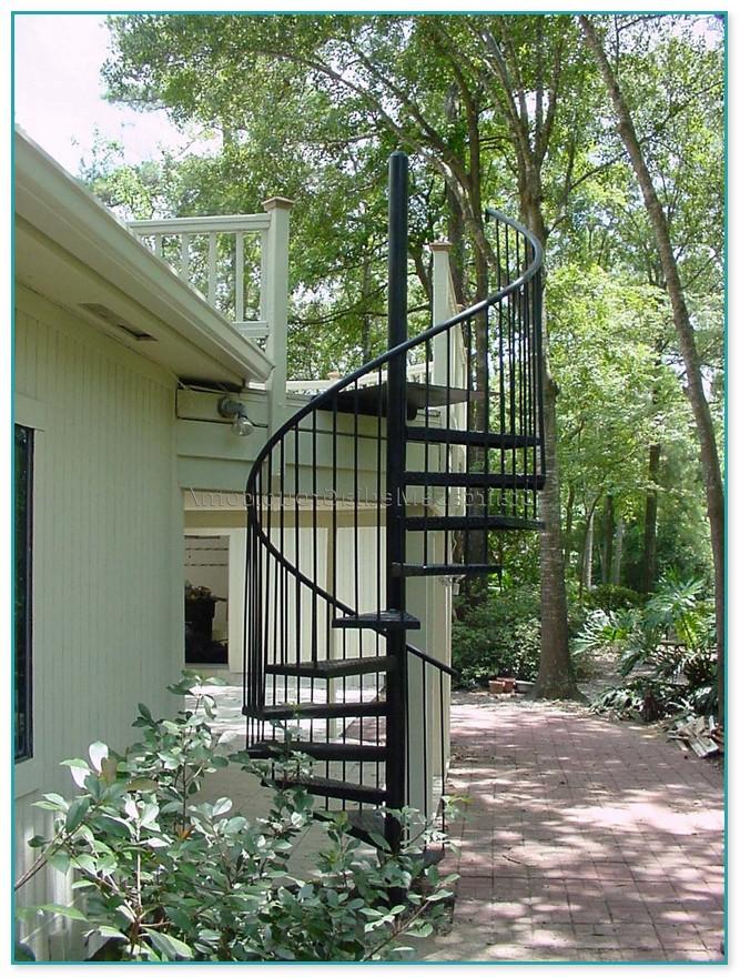 Aluminum Spiral Staircase Kit
