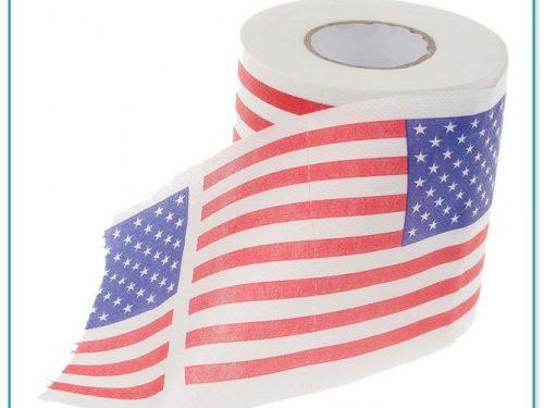 American Flag Toilet Paper