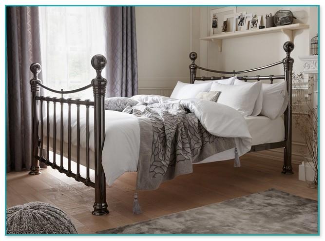 Antique Cast Iron Hospital Bed