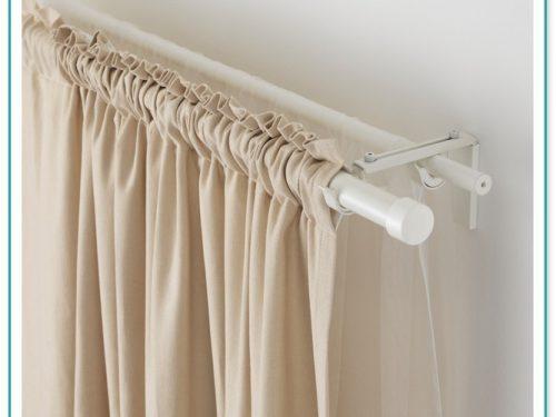 Antique White Double Curtain Rod