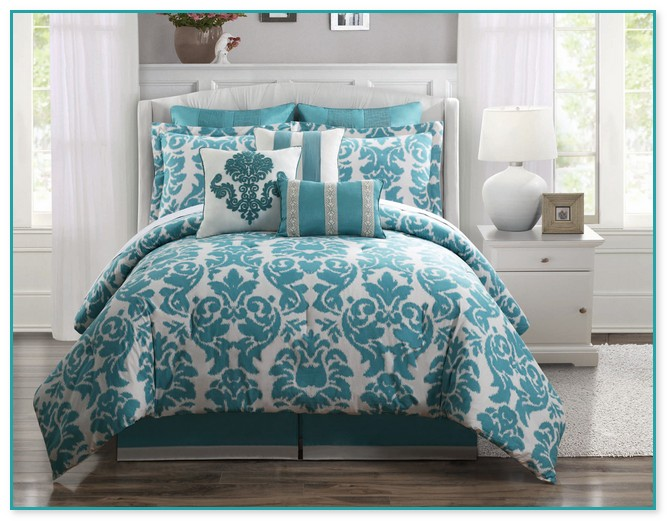 Aqua King Comforter Sets