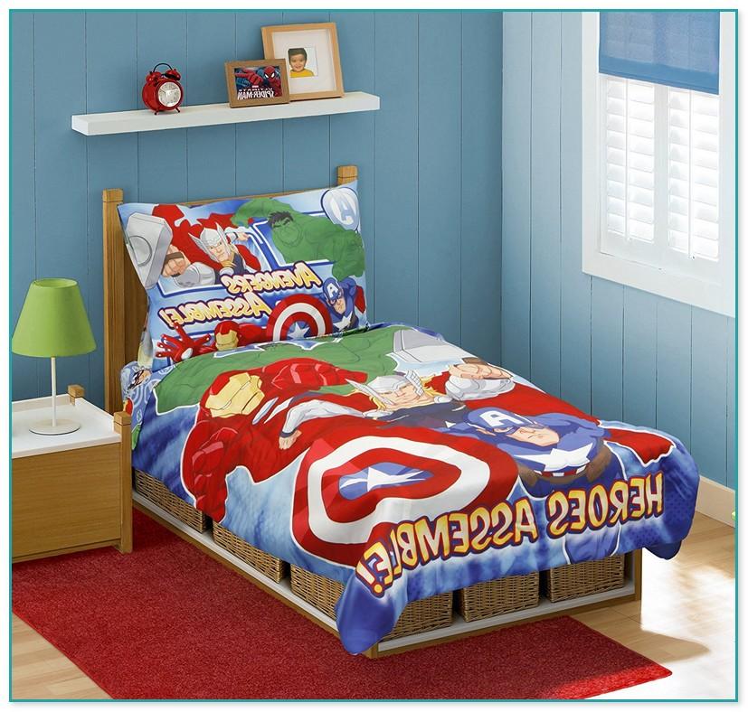 Avengers Toddler Bed Set