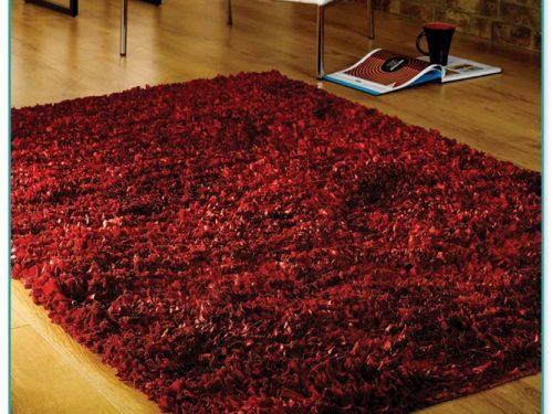 Big Red Shaggy Rugs