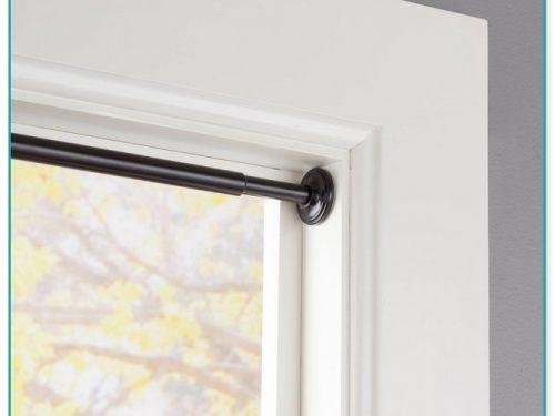 Bronze Double Traverse Curtain Rod