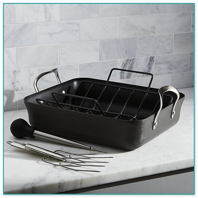 Calphalon Contemporary Stainless Roasting Pan Set