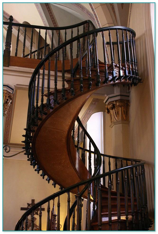 Church Spiral Staircase Santa Fe