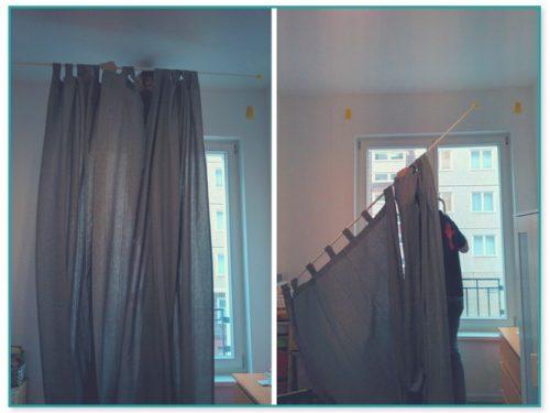 Close To Wall Curtain Rod Brackets