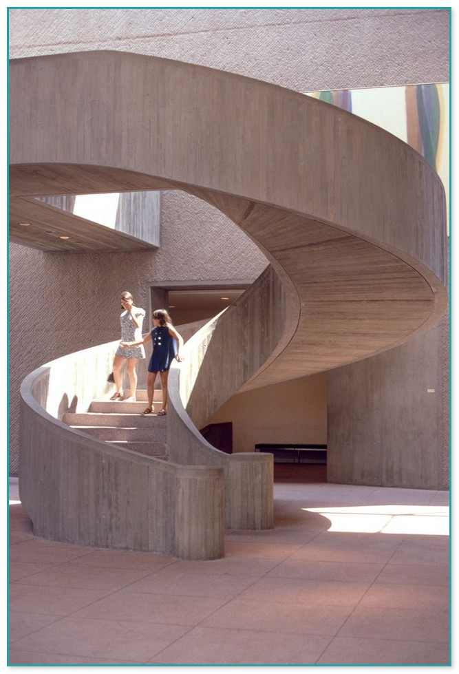 Concrete Spiral Staircase Design