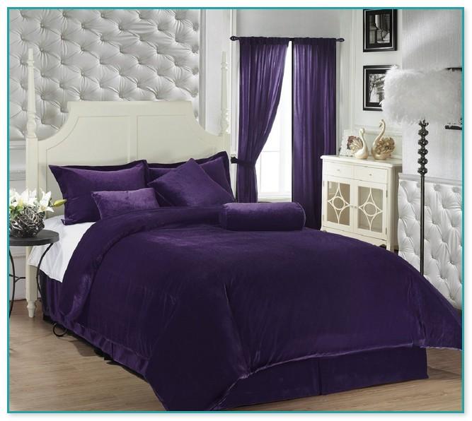 Deep Purple Comforter Sets