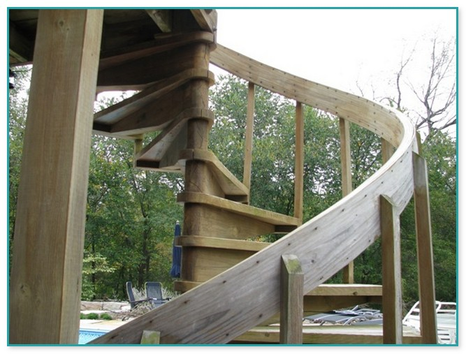 Exterior Spiral Staircase Cost