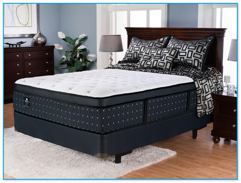 2 piece queen box spring. Black Bedroom Furniture Sets. Home Design Ideas