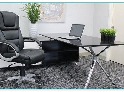 Harrington High Back Bonded Leather Chair