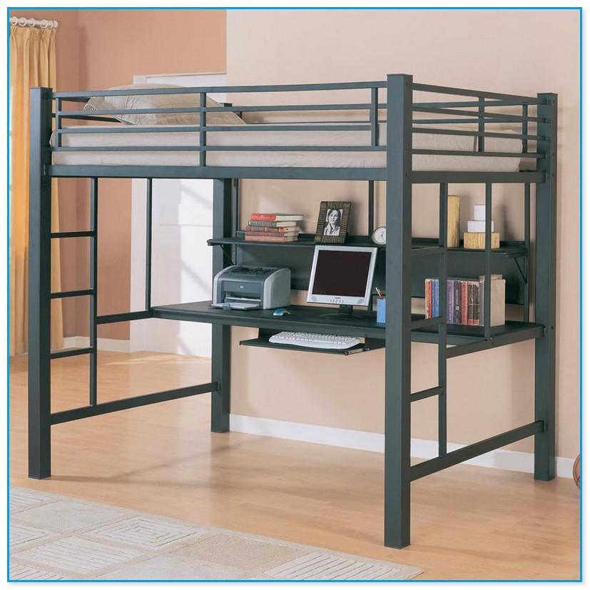 Loft Bed Desk Combo