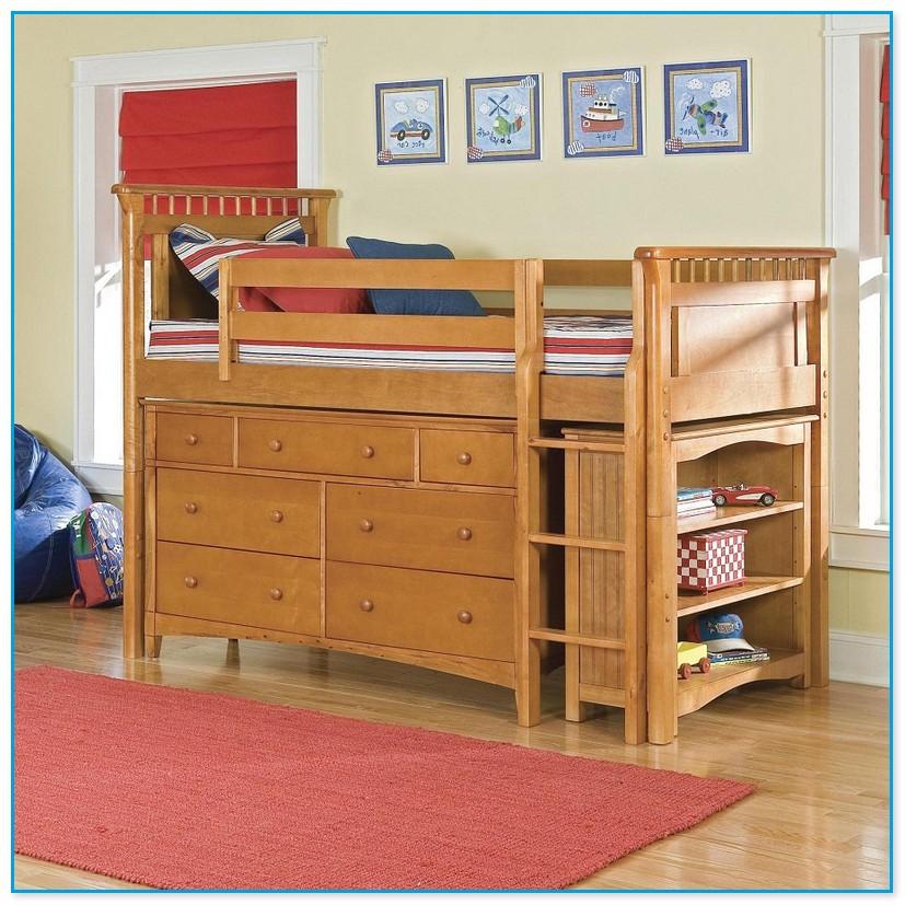 Low Loft Bed Full Size
