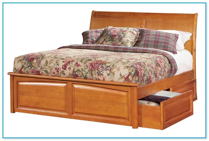 Raised Platform Bed Frame