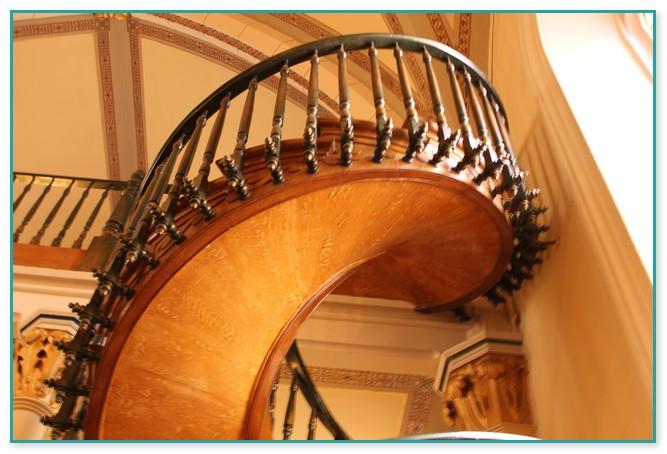 Santa Fe New Mexico Spiral Staircase