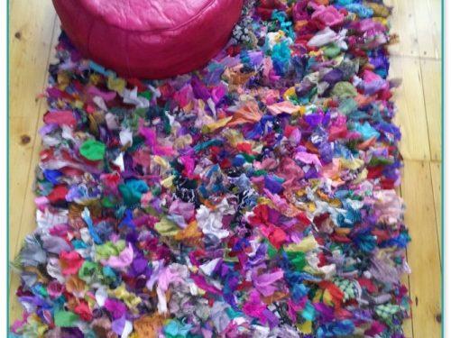 Shaggy Rag Rugs For Sale Uk