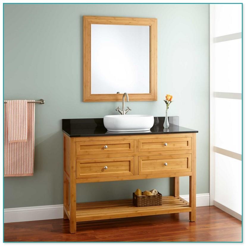Bathroom vanity depth