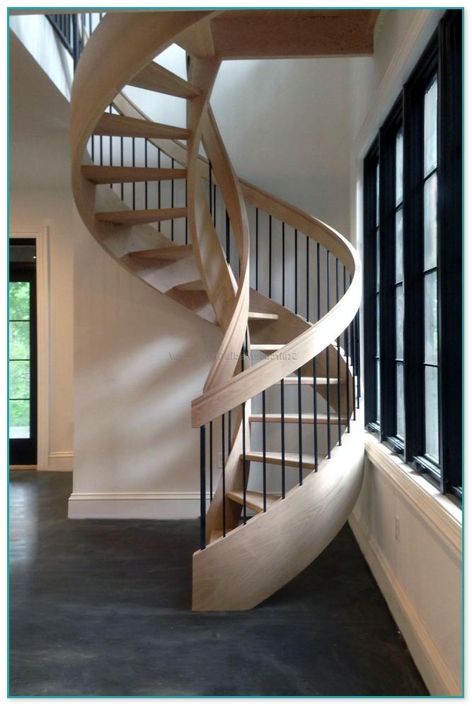 Spiral Staircase Central Pillar