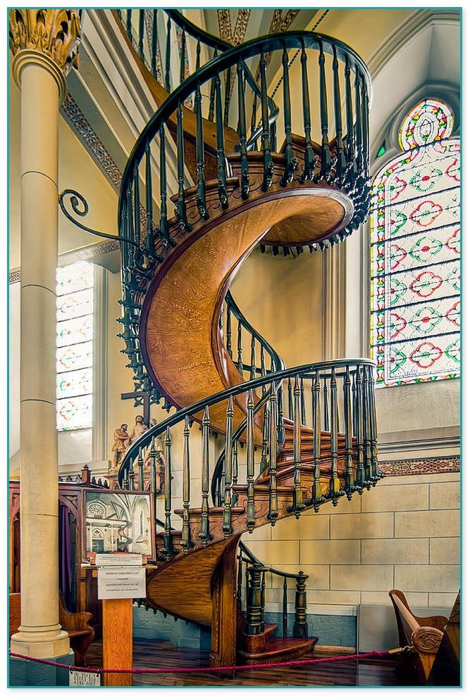 Spiral Staircase Church Santa Fe