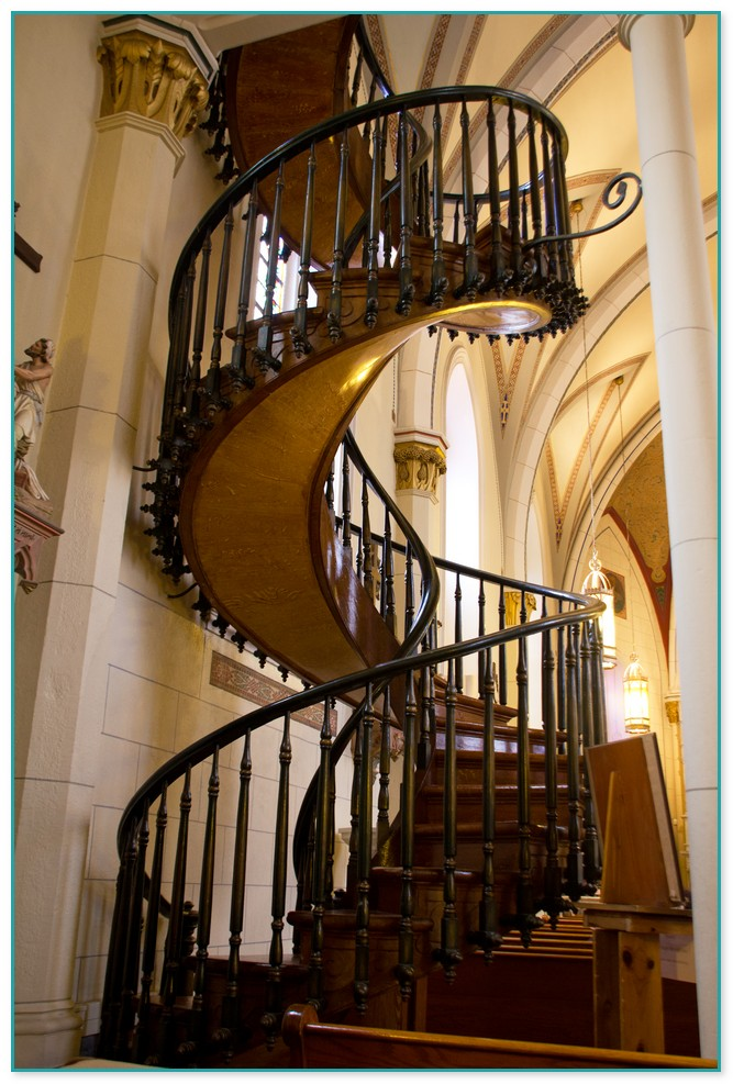 Spiral Staircase In Santa Fe