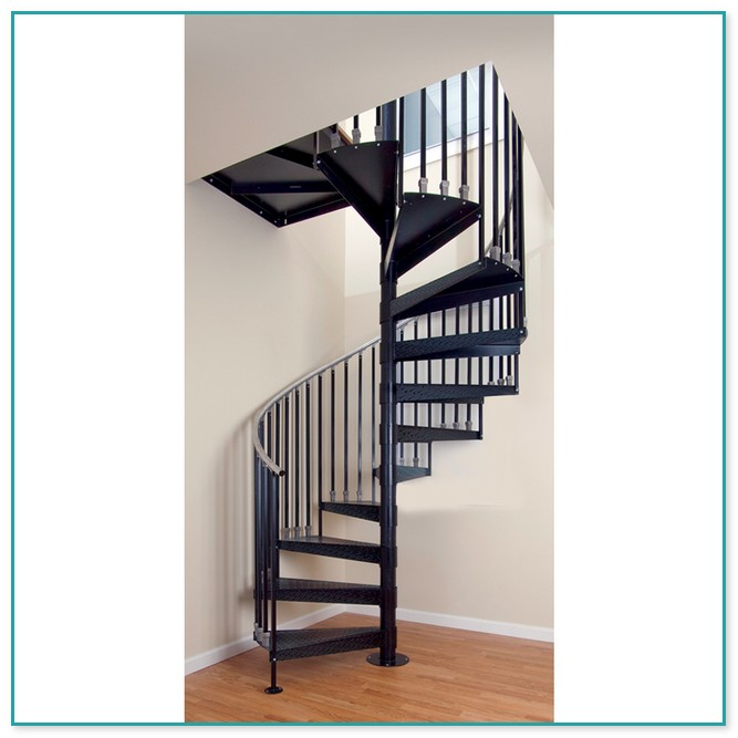 Spiral Staircase Kit Exterior