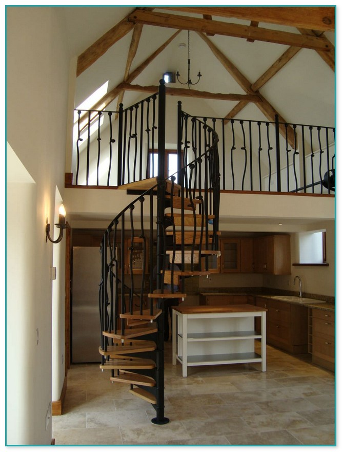 Spiral Staircase Loft Conversion