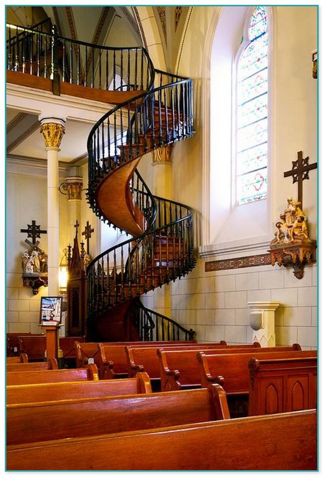 Spiral Staircase Santa Fe New Mexico