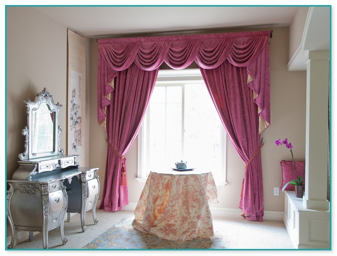 Swag Curtains Decorating Ideas