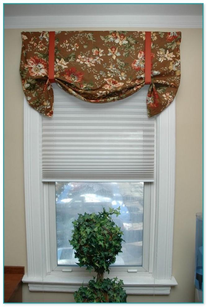 Swag Curtains For Bathroom Windows