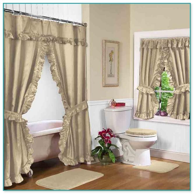 Swag Curtains For Bathroom