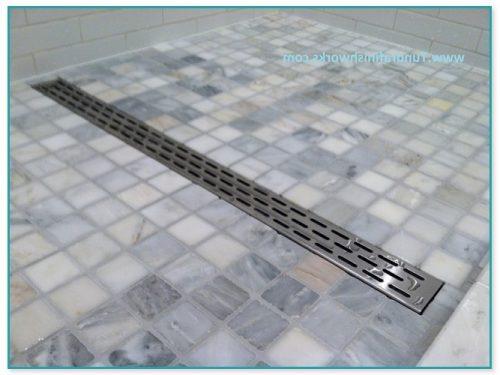 Tile Shower Drain Installation