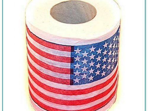 Buy American Flag Toilet Paper